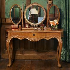 Louis XV Dressing Table - By Type - Bedroom Furniture | AND SO TO BED
