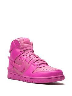 Pink Sneakers, Air Force Sneakers, Nike Air Force, High Top Sneakers, Sneakers Nike, Nike Dunks, Signature, High Tops, Men