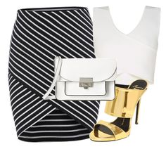 """""""Untitled #21"""" by evelinafitri on Polyvore featuring BCBGMAXAZRIA, Giuseppe Zanotti and Marc by Marc Jacobs"""