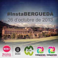 Ja us podeu inscriure al #InstaBERGUEDA del proper 26 d'octubre al Museu de la Colònia Vidal de Puig-Reig a la comarca del El Berguedà. Us hi esperem IGERS!
