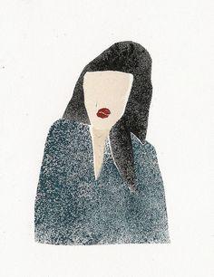 Pochoir people 3   Anna Gleeson