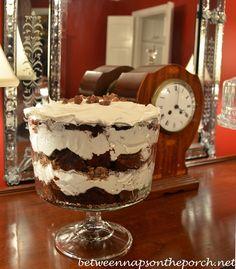 Yummy Devil's Food Toffee Trifle Recipe (BNOTP blog)