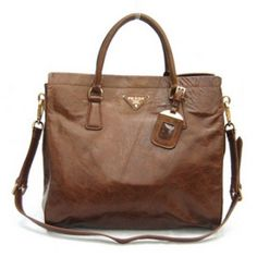 £156.00 buy prada oil leather tote bag bn1847 coffee uk