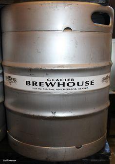 Glacier Brewhouse Kegs. I love kegs!! #craftbeer #breweries #kegs #beerlover #beerbloggers #beerblog #alaska #travelalaska #anchorage #glacierbrewhouse