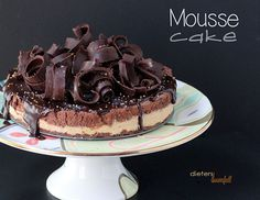 Chocolate Shortbread Crust, Cookie Butter Mousse and Chocolate Mousse topped with more chocolate. Simply Amazing!
