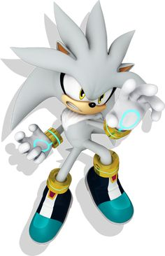 Silver (Sonic Boom Style) by on deviantART Sonic The Hedgehog, Hedgehog Art, Silver The Hedgehog, Cute Hedgehog, Shadow The Hedgehog, Sonic Boom, Sonic Dash, Sonic The Movie, Sonic Underground
