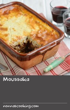 Try Rick Stein& take on this traditional Greek recipe, combining spiced lamb mince and creamy white sauce. Greek Lamb Recipes, Ground Lamb Recipes, Sauce Recipes, Cooking Recipes, White Rice Recipes, Rick Stein, Moussaka, White Sauce, Creamy White