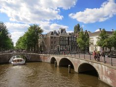 Venture farther out into the city and into the area known as the grachtengordel, Amsterdam's canal district. Follow the link to see more:  http://mikestravelguide.com/a-great-photo-of-the-dancing-houses-in-amsterdam/