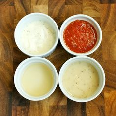 How To Make Homemade Sauce - recipes for white sauce, marinara sauce, simple wine reduction sauce, and basic gravy