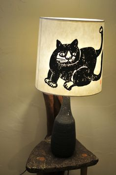 Lamp of the cat