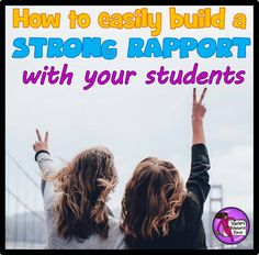 Building rapport with our students is a vital part of our roles as teachers, and once successfully established can make behaviour management seem almost effortless - most days! It's not something that is ever really taught when we are training to teach, which I think is a crying shame... but don't worry, Teachers Resource Force is coming to the rescue! Sometimes this can come naturally to people, but if you're one of those who may need a hand with it, relax, it is a science and can be…