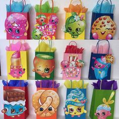 Party bags shopkins 12 by ScozShop on Etsy