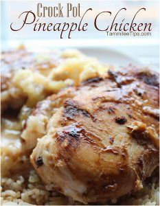 Need a break from your everyday routine, or even just some cold weather? This pineapple chicken recipe for Vacation Chicken will transport y...