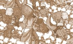 A sepia-tone version of Slaves Picking Cotton, which I drew for a client a few years back. Picking Cotton, Cotton Textile, Southern, Textiles, Fantasy, Landscape, Comics, Drawings, Board