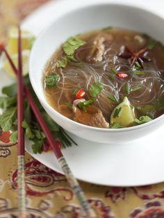 Soupe Pho - Recette de cuisine Marmiton : une recette