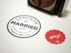If I'm ever getting married, I'm using this! Lauren And Tim Got Married!