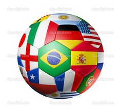 World Cup Soccer Ball. I will take Jim to the World Cup games!  My number 1 supporter.  #lovemylife #rfdreamboard