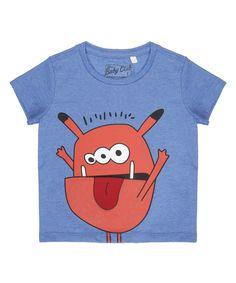 "Camiseta ""Monstro"" Azul - cea"