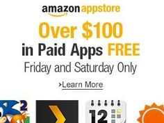 Get Top-Quality, Paid Amazon Android Apps Free 06/27/14 to 06/28/14 - http://crazymikesapps.com/get-top-quality-free-paid-amazon-android-apps-062714-062814/?Pinterest