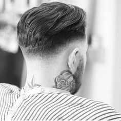 If you love modern mens haircuts full of vintage inspiration, check out our list of 30 super trendy and stylish comb over fade haircuts. Undercut Hairstyles Women, Short Hair Undercut, Slicked Back Hair, Haircuts For Men, Undercut Pompadour, Men's Hairstyles, Classic Mens Hairstyles, Men Undercut, Wedding Hairstyles