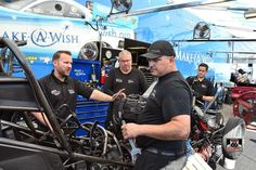 Tommy J JR Pilots the Riley Children Hospital T/F Funny Car with DSR Team at the US Nationals