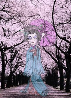 The Geisha ghost by Little-Horrorz
