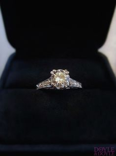 Classic for a reason. The Vintage engagement ring collection from Doyle & Doyle.
