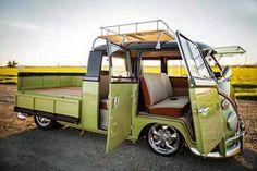 1966 Volkswagen Double Cab for sale in Chandler, Arizona, United States Volkswagen Transporter, Volkswagen Golf Mk1, Volkswagen New Beetle, Volkswagen Vintage, Vw Vintage, Vintage Trucks, Wolkswagen Van, Kombi Pick Up, Combi T2