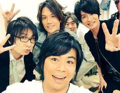 . BROTHERS CONFLICT FES Juotoko finished the part of the day and night: Namikawa Daisuke, seven man: Tomoaki Maeno ten second son: KENN-san, Hachiotoko: Ken Takeuchi, eleven man: Yoshimasa Hosoya. from DREAMWEAVERtwitter