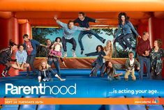 Parenthood! Seriously one of the best shows on tv. Go rent/buy seasons 1, 2 and 3 (when it comes out) and you will be dying for season 4 to start. Every single episode has made me both laugh and cry. I love this show.