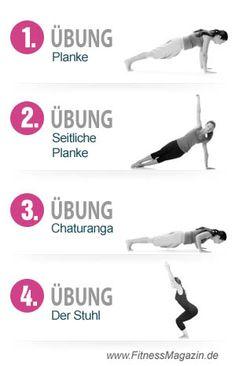 4 Yoga Übungen