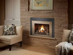 The 430 gas insert by FPX is designed to replicate a traditional open fireplace. Available from Rich's for the Home http://www.richshome.com/