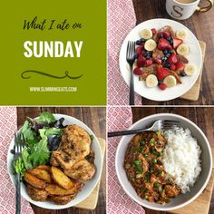 What I Ate This Week on Slimming World - Week 1 - We have a new addition to the blog and you are going to love it. What I Ate This Week is where I will be sharing my weekly food diary. This is so much better than just a basic Meal Plan because you will see the food exactly how it was made and enjoyed. | www.slimmingeats.com #slimmingworld #fooddiary #whatiatethisweek #mealplan