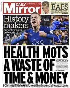 Daily Mirror United Kingdom Tabloid