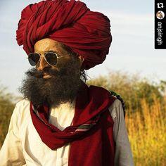 Now that's Style! Striking resemblance to Rasputin! The cool characters of JAWAI! #jawai #Rasputin #jawai #jawaibandh #rabari #tribal #turban #raybans #wanderlust #experientialtravel #explore #offthebeatenpath #luxurycamps #luxurytravel #glamping #culture #costumes #nomadic #herdsman #wildernessculture #wildernesslodge
