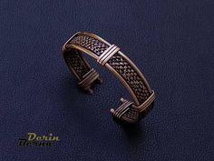 Adjustable men copper cuff bracelet,Men Bracelet,Braided men Bracelet,Men accessories,Viking Bangle Bracelet,Men Cuff Bracelet,Free Shipping by BernaDerin on Etsy