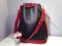 Louis Vuitton Epi Noe Gm Black, Red Bag - Satchel. Save 54% on the Louis Vuitton Epi Noe Gm Black, Red Bag - Satchel! This satchel is a top 10 member favorite on Tradesy. See how much you can save