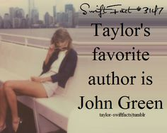 Same!!!! Susanne Collins wrote my favourite books but John Green is my favourite author