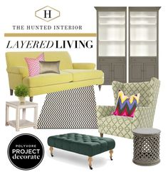 Project Decorate with @Polyvore & the Hunted Interior + Two $500 Gift Card Giveaways!!