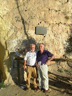 Spain Roderick Stewart and Jesus Majada Neila in front of the plaque honouring Bethune on the Paseo de los canadienses, Malaga. Social Activist, Malaga, Norman, Phoenix, Spain, Couple Photos, Life, Couple Pics, Sevilla Spain