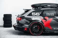 Jon Olssons incredible RS6 DTM Monster: http://www.youngandminted.com/jon-olsson-reveals-his-rs6-dtm/