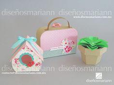 Cajas para mesa de dulces/Shabby Chic