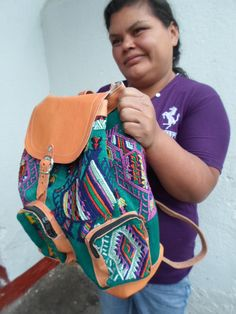GUATEMALAN HUIPIL BACKPACK. by GUATEMAYAHANDCRAFTS on Etsy