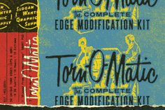 Nice Torn-O-Matic   Edge Modification Kit CreativeWork247 - Fonts, Graphics...