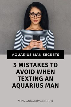 When you're in a relationship or getting to know a new guy, it's easy to treat texting like a secret passage between your heads. But before you let those thumbs loose, take a look at these 3 BIG mistakes you should avoid when texting an Aquarius man! #dating #aquarius #man #texting #mistakes #zodiac #horoscope #astrology #signs #relationship #attract Love Astrology, Astrology Signs, Aquarius Man, Secret Passage, Take That, Let It Be, Zodiac Horoscope, Your Man, Texting