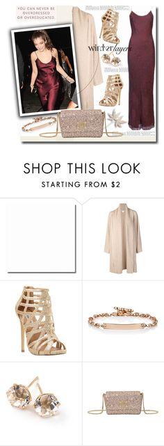 """Winter Layers: Slip Dress"" by sweta-gupta ❤ liked on Polyvore featuring Rosetta Getty, Steve Madden, Hoorsenbuhs, Ippolita, Jimmy Choo, women's clothing, women's fashion, women, female and woman"
