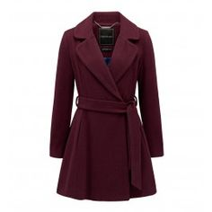 Embrace the cool weather in style this winter with our gorgeous Erin Fit And Flare Coat.