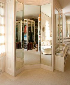 Closet mirrors