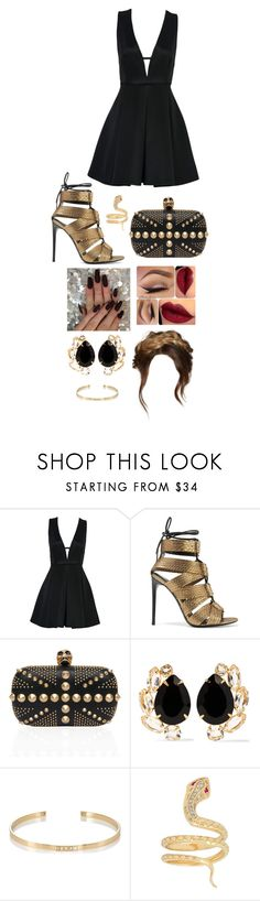 """""""Untitled #1135"""" by kellylaeticia ❤ liked on Polyvore featuring WithChic, Tom Ford, Bounkit and Ileana Makri"""