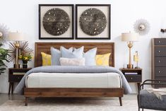 King bed furniture mid century modern king bed in brown king furniture sofa King Furniture, Brown Furniture, Furniture Sets, Brothers Furniture, Bedroom Furniture Inspiration, Bedding Inspiration, Bedroom Ideas, Bedroom Decor, Mid Century Modern Bed